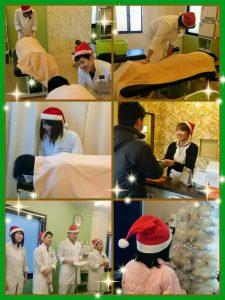 ファミー午後の整骨院のクリスマス!